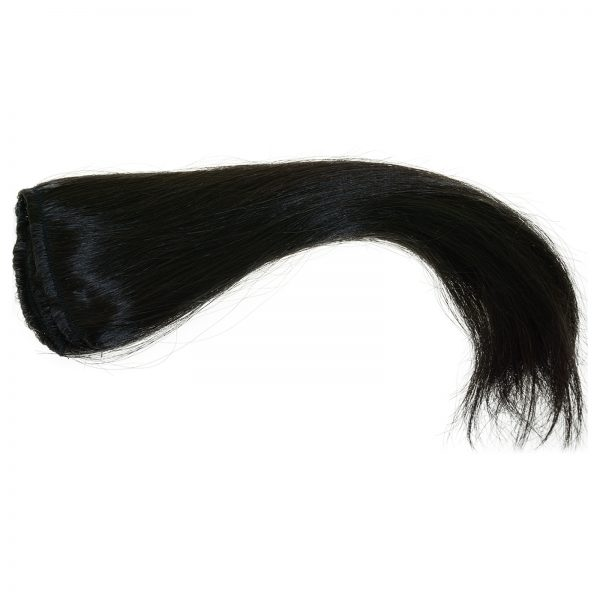 This is an example of black straight hair