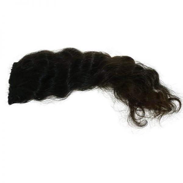 This is an example of black wavy hair