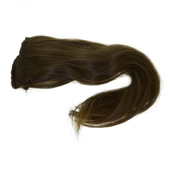 This is an example of brown straight hair